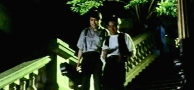 11.03 張國榮電影足跡-都爹利街石階及煤氣路燈-金枝玉葉 01